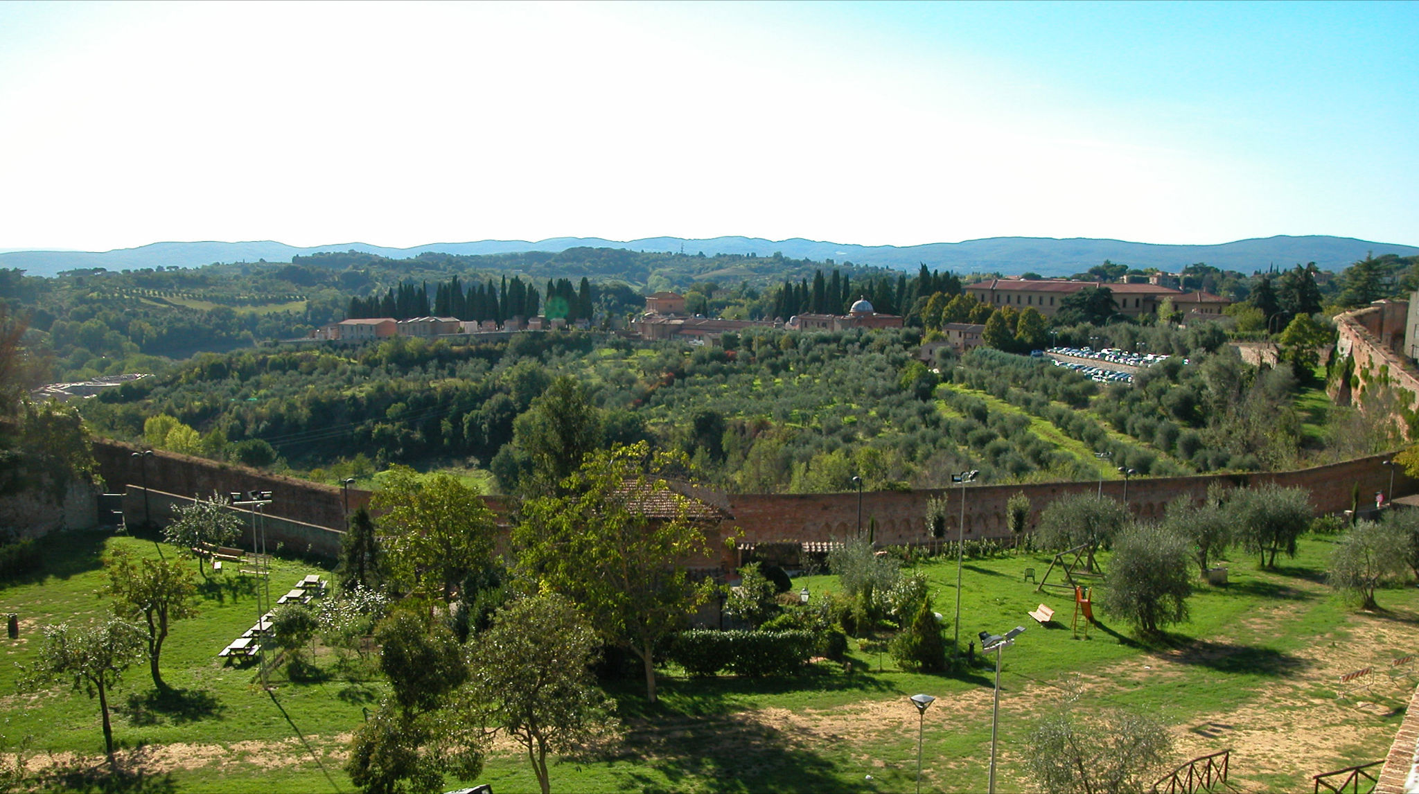 Siena green city